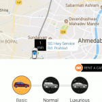 Easy ride booking for taxi app