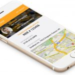 History Details in taxi app clone