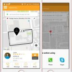 Live Tracking in taxi app